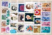 Отдам коллекцию марок даром