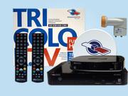 Ресивер Триколор тв Full HD на 2 телевизора