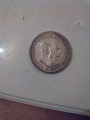 продам 1 рубль 1891года