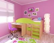 Кровать детская  Караван 1.