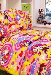 Детские комплекты постельного белья из Бязи