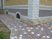Укладка тротуарной плитки и природного камня.